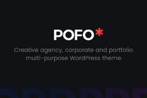 POFO Theme WordPress Kreatif dan Blog Cover