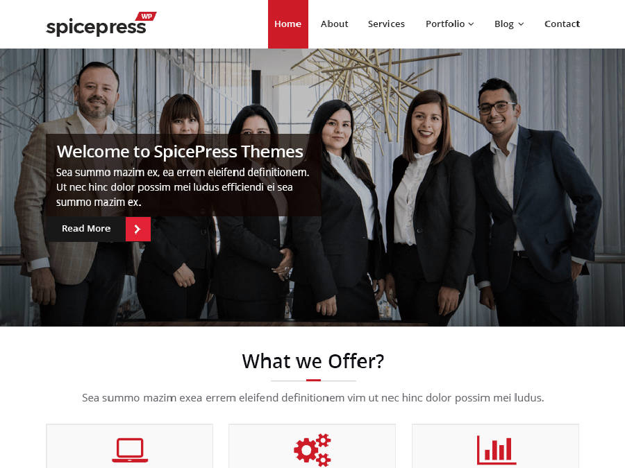 SpiceThemes SpicePress WordPress