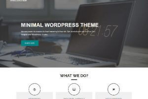 Theme WordPress BizPlus Free