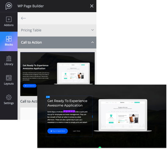 WP Page builder feature4