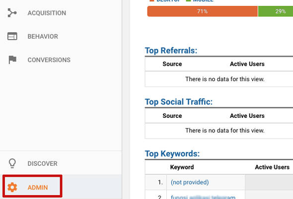 Pasang Google Analytics WordPress