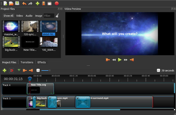 Software Video Editing Gratis Openshot