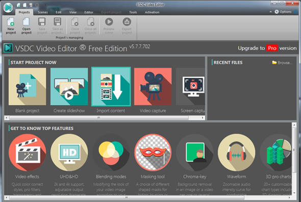 Software Video Editing Gratis VSDC Editor