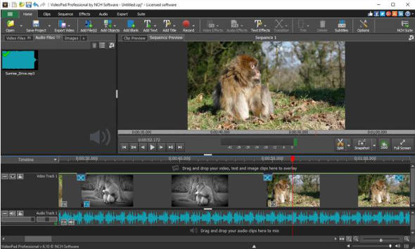 Software Video Editing Gratis Videopad