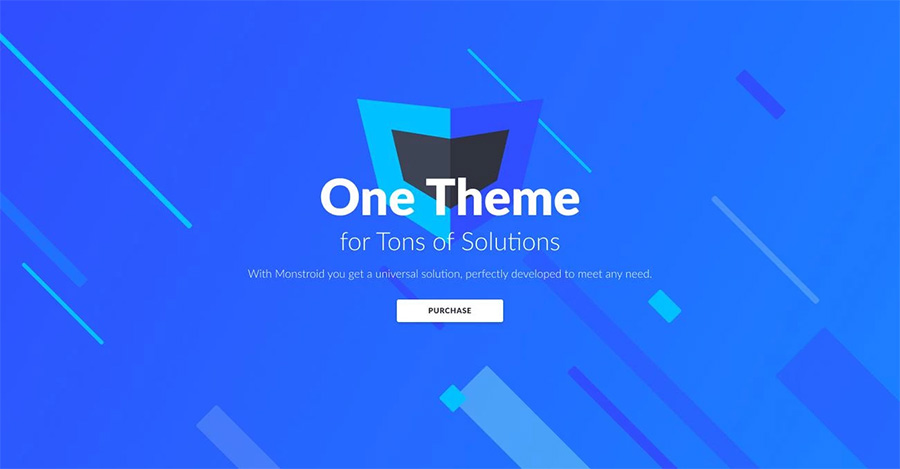 Monstroid WordPress theme 3