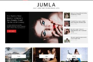 Theme WordPress Jumla Responsive Free