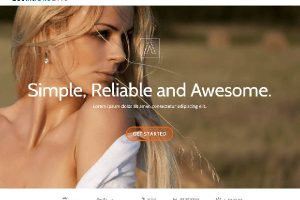 Theme WordPress Llorix one lite