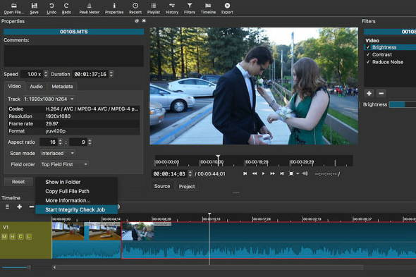 Video editing gratis Shotcut