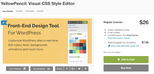 YellowPencil Visual CSS Editor