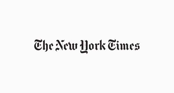 font logo brand terkenal the new york times