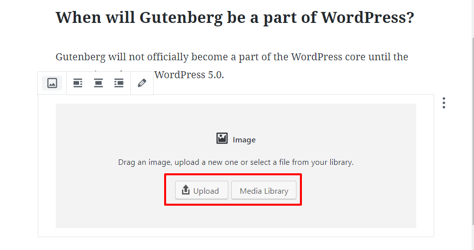 Editor Gutenberg WordPress 7