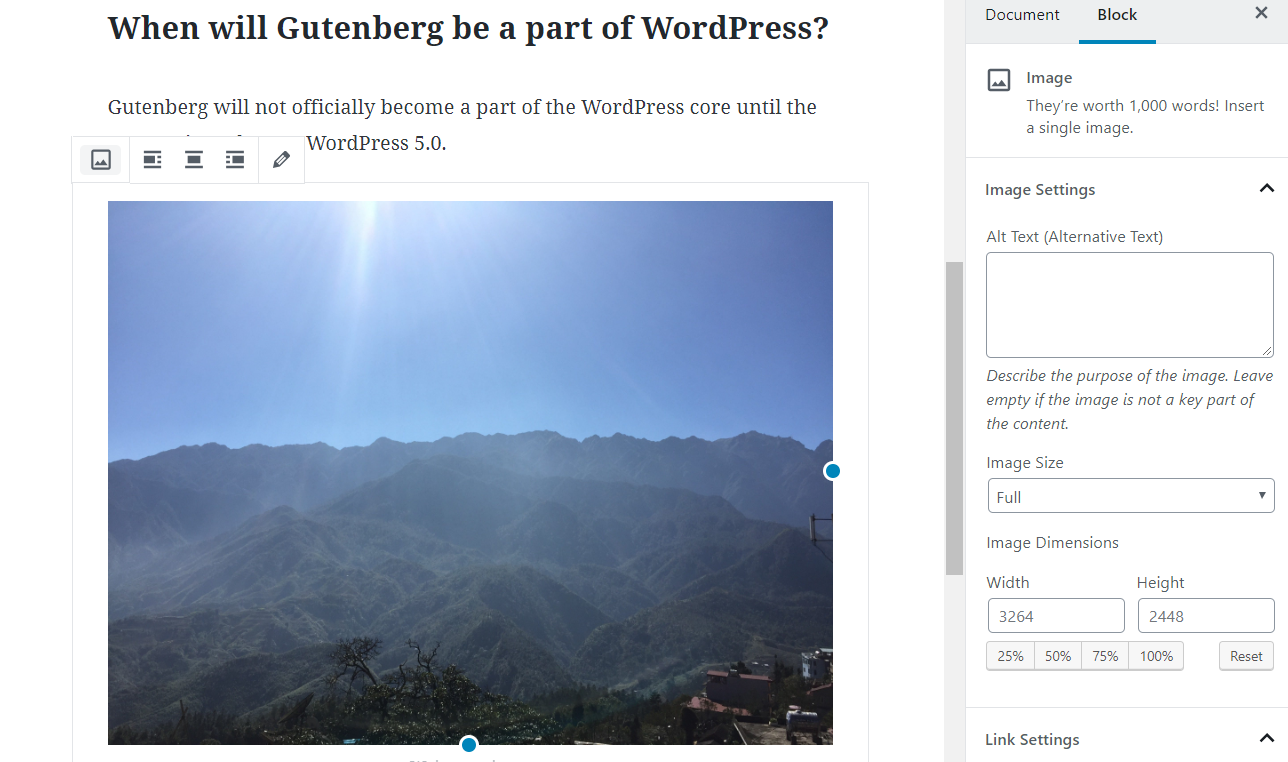 Editor Gutenberg WordPress 8