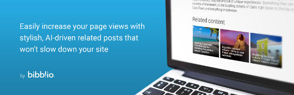 Plugin related post terbaik wordpress bibblio