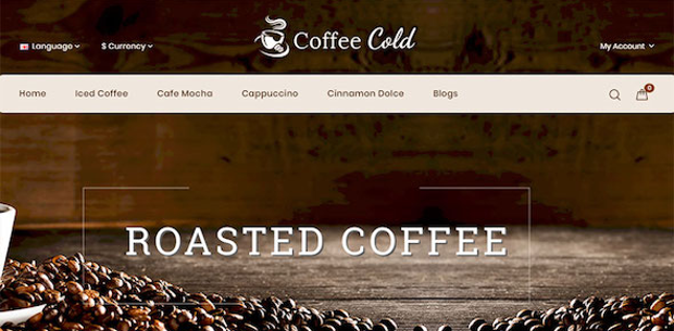 Web Template Coffee