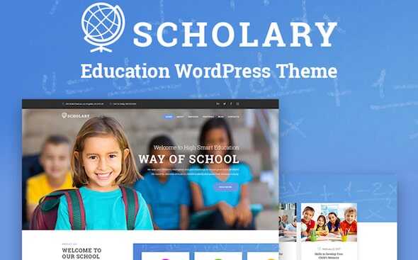 Tema WordPress Sekolah scholary