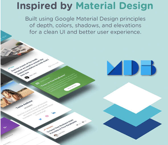 Eventastic WordPress Themes Google Material Design
