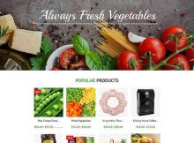 Food Gourmet WooCommerce Themes 1