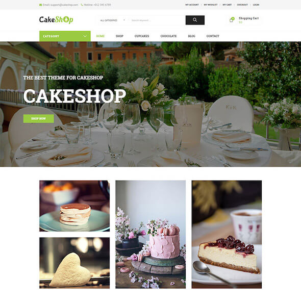 Food Gourmet WooCommerce Themes 11