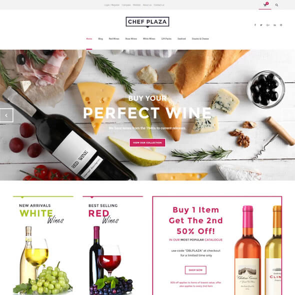 Food Gourmet WooCommerce Themes 3