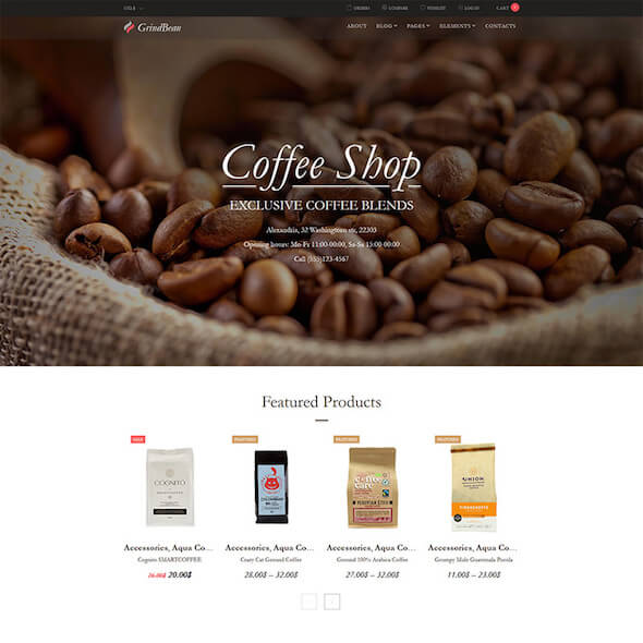 Food Gourmet WooCommerce Themes 4