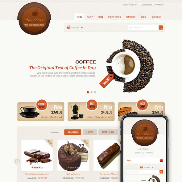 Food Gourmet WooCommerce Themes 7