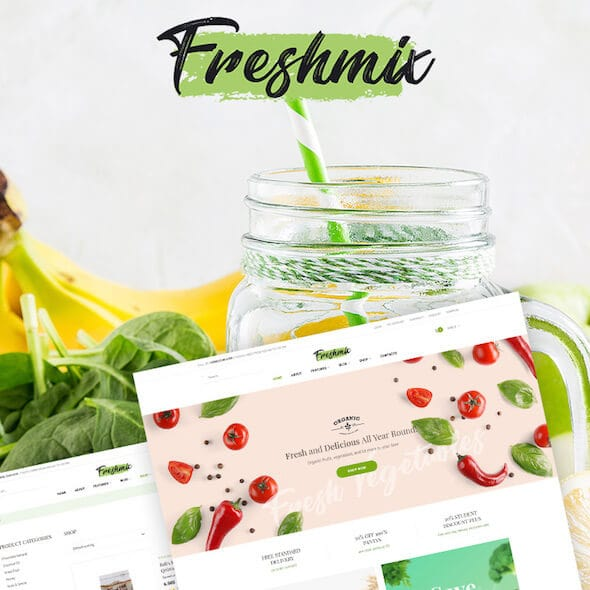 Food Gourmet WooCommerce Themes Tema WooCommerce makanan