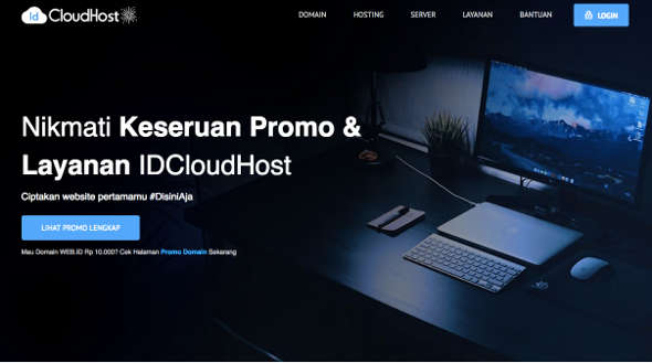 IDCloudhost is Indonesia's best hosting