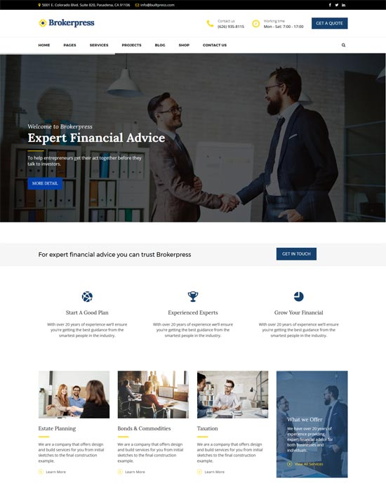 10 Best WordPress Themes for Forex