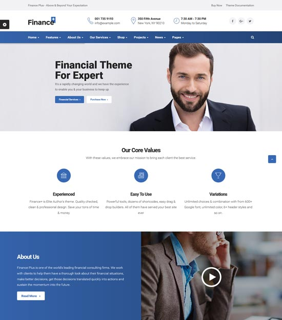 Best WordPress Themes for Forex 5