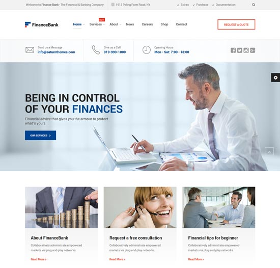 Best WordPress Themes for Forex 6