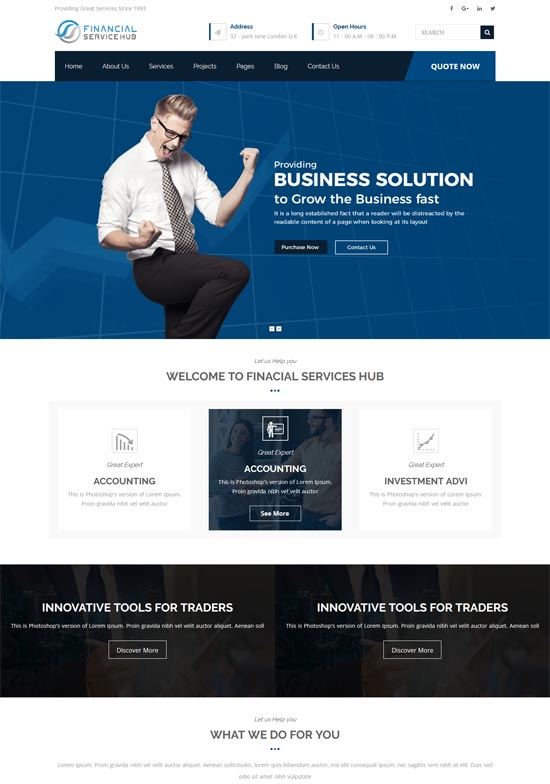 Best WordPress Themes for Forex 9
