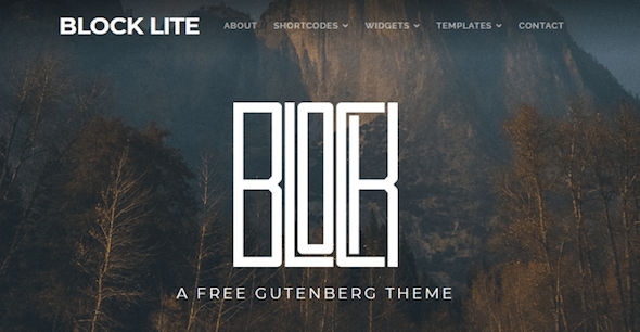 Block-Lite-Theme WordPress