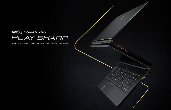 MSI GS65 Stealth Thin laptop gaming terbaik