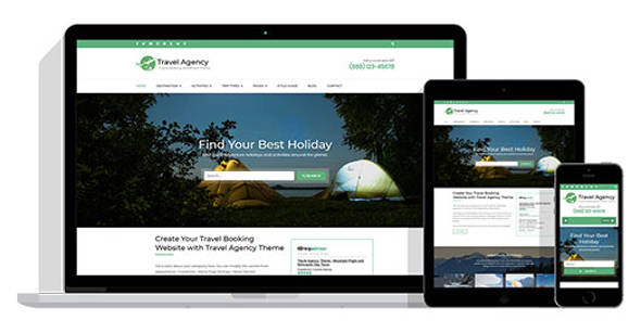 Travel Agency Theme Responsive