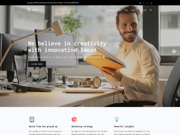 Zakra Free WordPress Themes