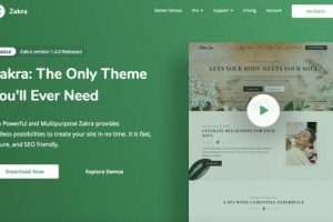 Zakra Theme WordPress