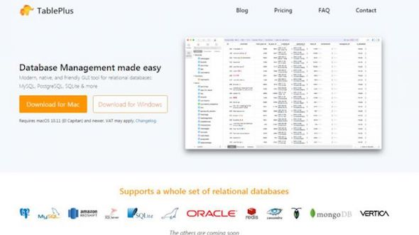 Table plus database terbaik