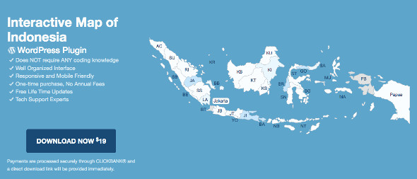 WP Map Plugins Indonesia
