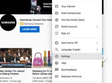 Profile setting custom URL Youtube
