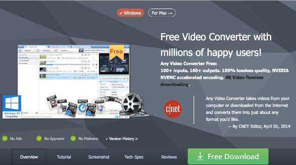 Putar video head unit Any video Converter 4