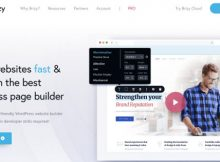Brizy Page builder WordPress