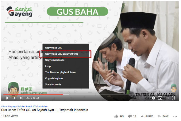 Tips dan Trik Dasar Youtube 1
