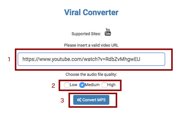 Konversi Video Youtube ke mp3 2
