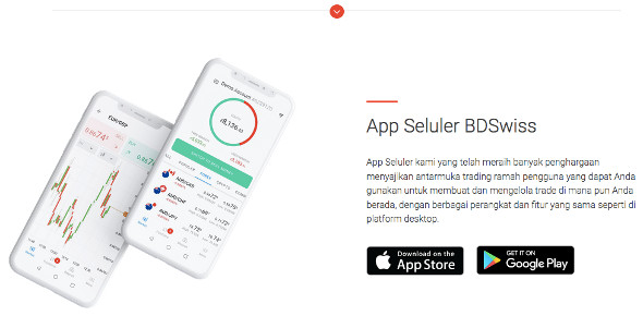 app trading forex BDSwiss