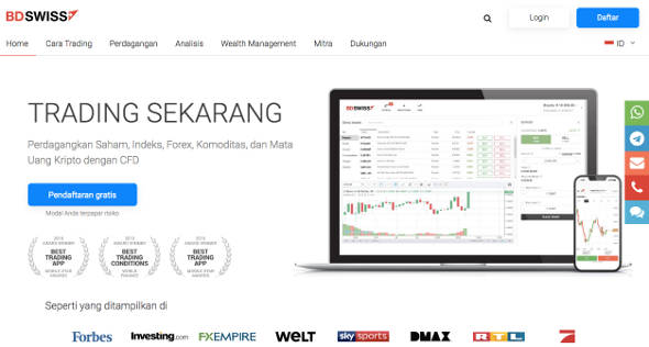 reviews of the BDSwiss forex broker