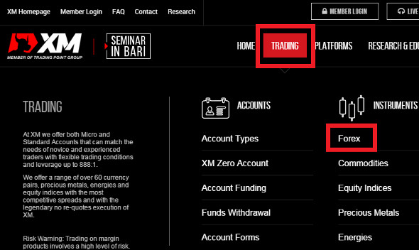 xm forex trading indonesia