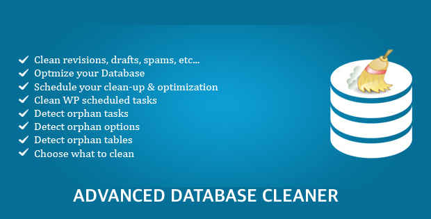 Bersihkan database WordPress Advanced Database Cleaner
