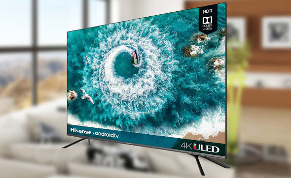 Smart TV Murah terbaik Hisense 50H8F 4K Ultra HD Android