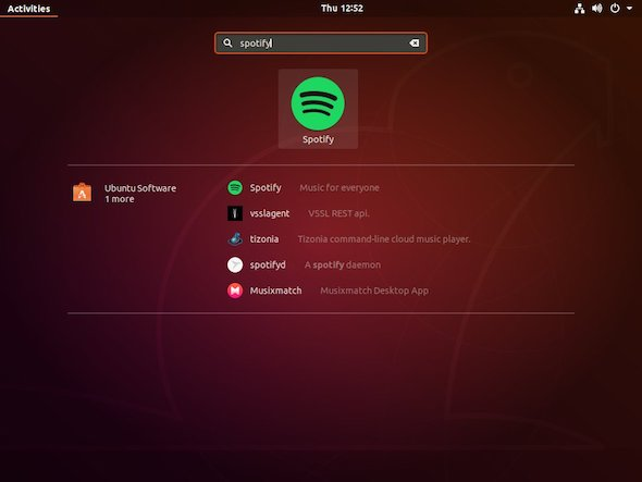 cara start spotify di ubuntu