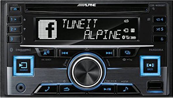 Head Unit terbaik Alpine CDE W265BT